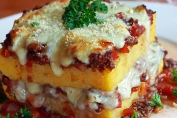 The polenta in Italy