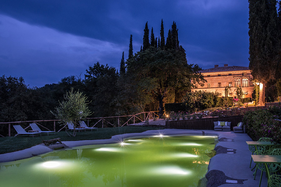 Swimming Pool Villa Armena Tuscany