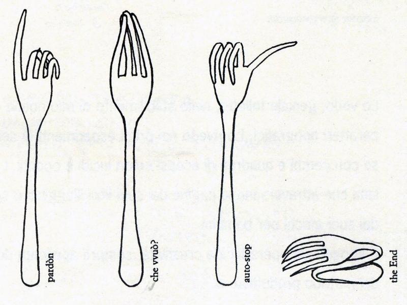 forchette parlanti munari