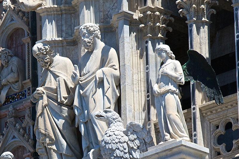 Particolare del Duomo di Siena