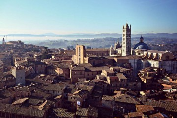 Panorama of Siena