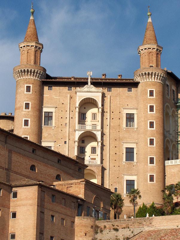 Palazzo Urbino Ducale facciata