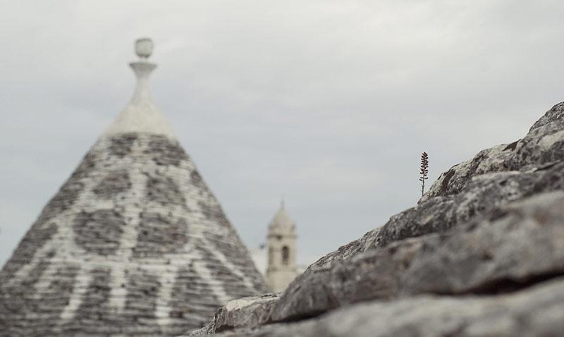 Particolare di Alberobello