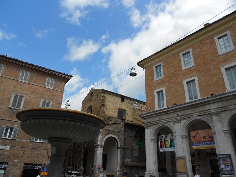Piazza della Repubblica Urbino