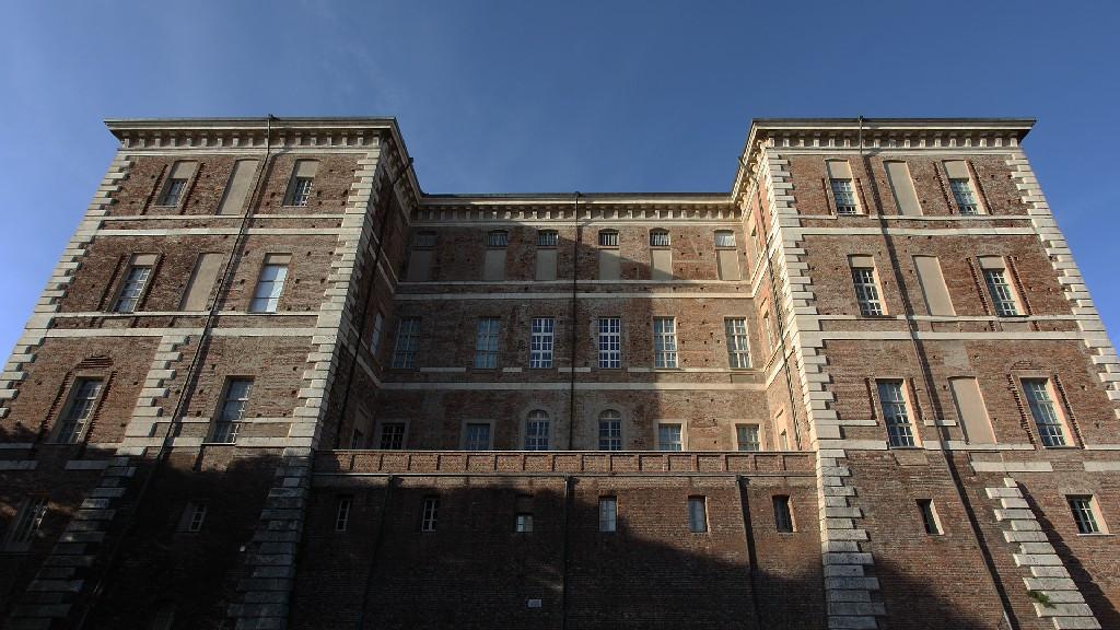 Il castello di Rivoli in Piemonte