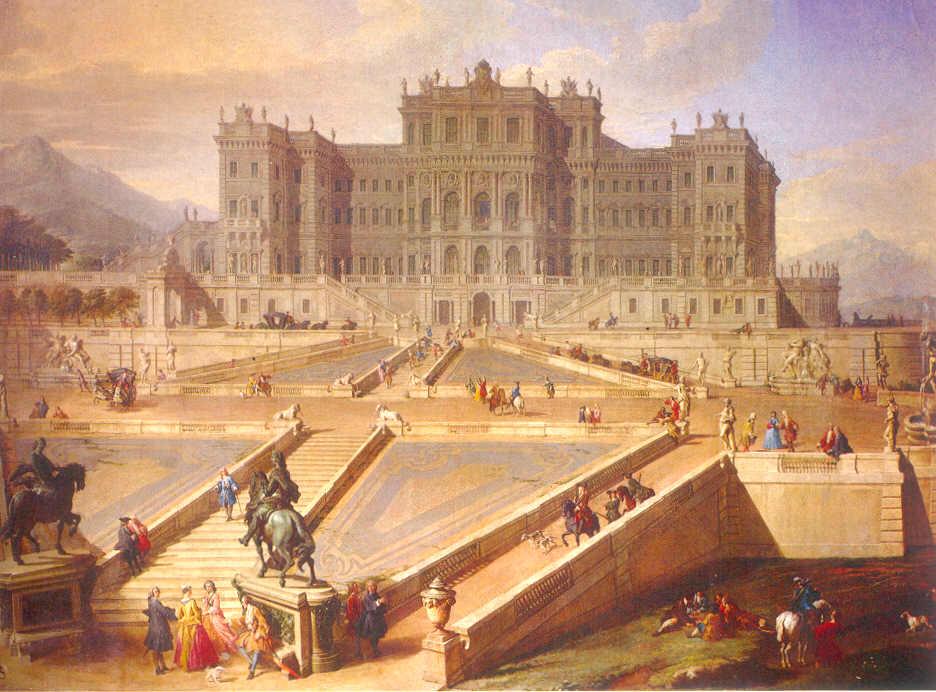 Rivoli castello in Piemonte