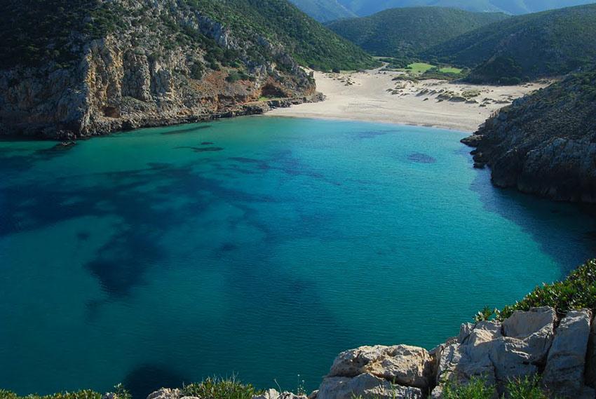 cala domestica spiaggia Sardegna