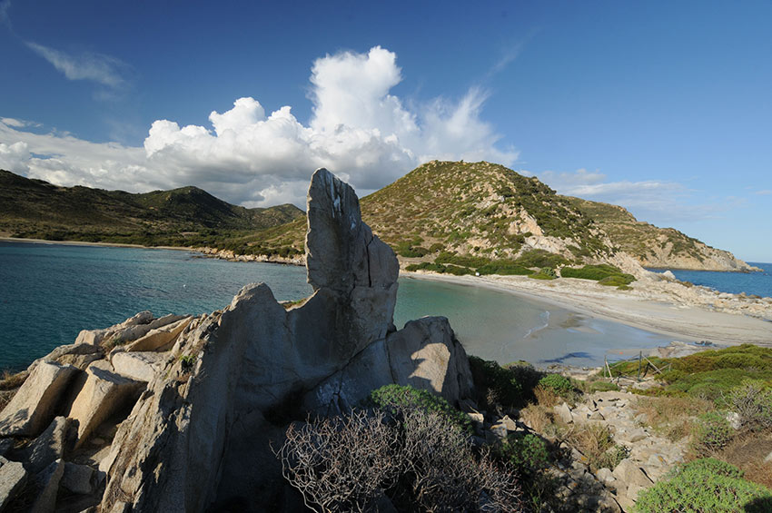 Punta Molentis spiaggia Sardegna