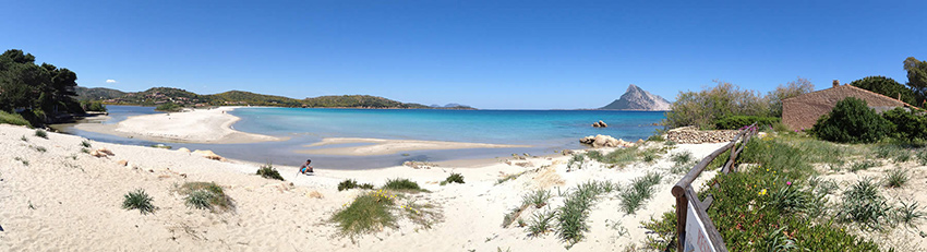 Porto Taverna Beach in Sardinia