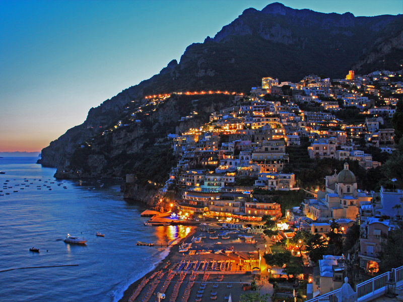 Guide to Positano in Campania
