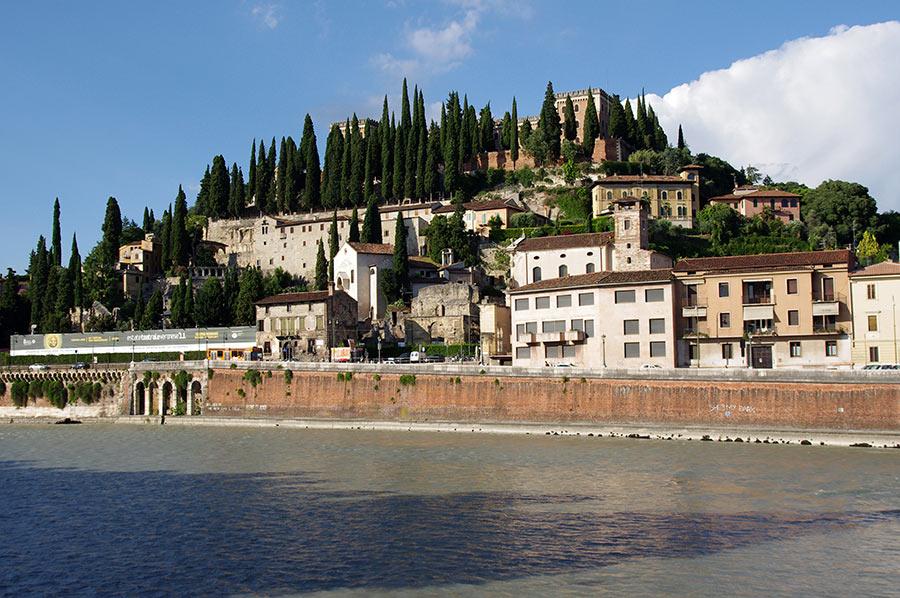 Castel San Pietro in Verona view