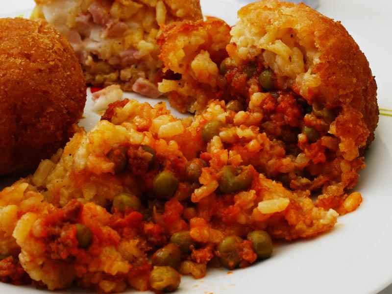 Arancina Sicilian street food