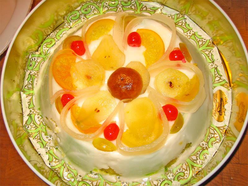 Cassata sicilian dessert