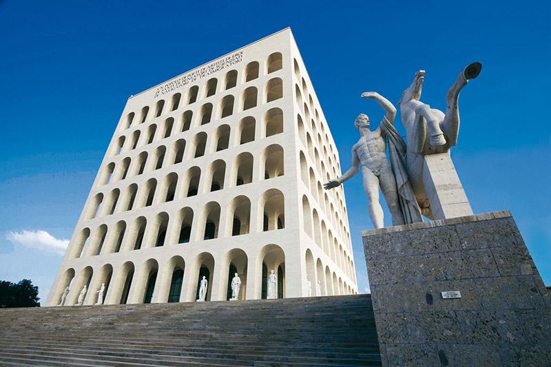 EUR Palazzo della Civiltà, Roma