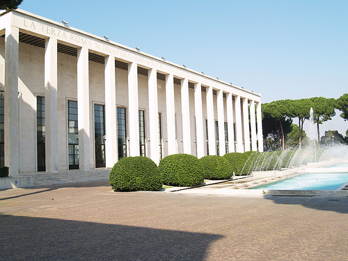 Palazzo degli Uffici Eur, Rome