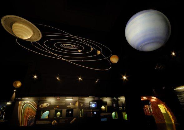 planetarium in EUR, Rome