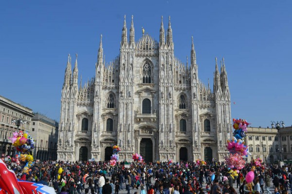 St Ambrose Carnival, a traditional event in Milan