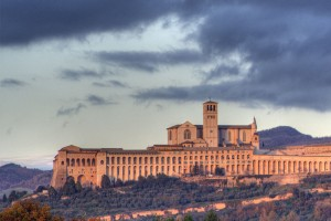 Assisi, the town of quietness in Umbria