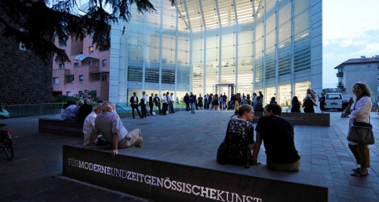Museion in Bozen, a prestigious museum for contemporary art