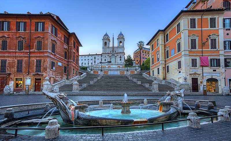 Spanish steps must see in Rome