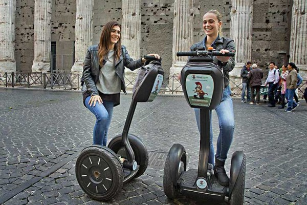 Segway tours in Rome, a great way to explore the city