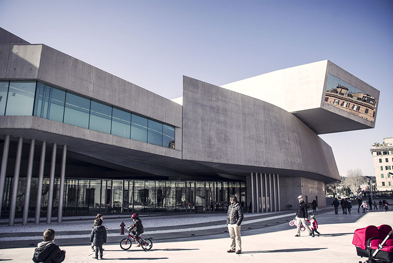 Maxxi Contemporary Museum Rome