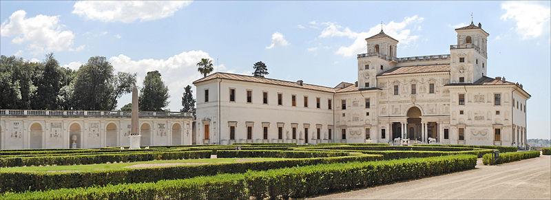 Villa Medici a must see in Rome