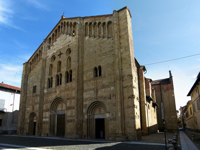 San Michele church in Pavia