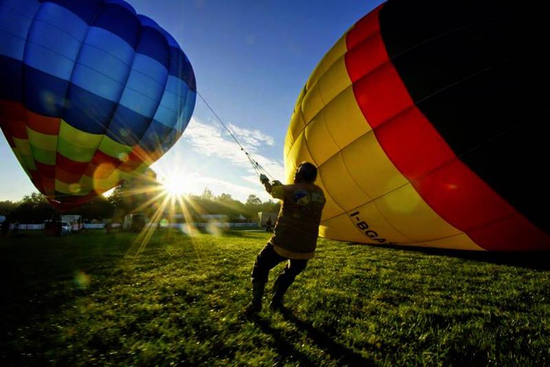 ferrara-balloons decollo