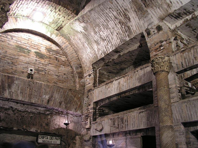 Catacombe-di-San-Callisto_tombe_dei_papi