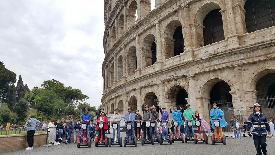 Visit Colosseum by Segway