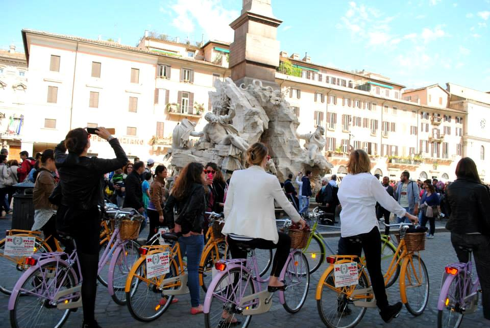 bike rental in Rome