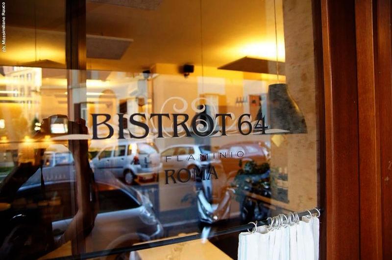 bistrot 64 restaurant, Rome