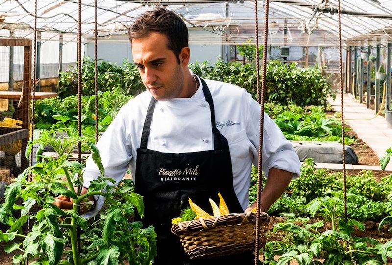 luigi salomone chef at piazzetta Milù