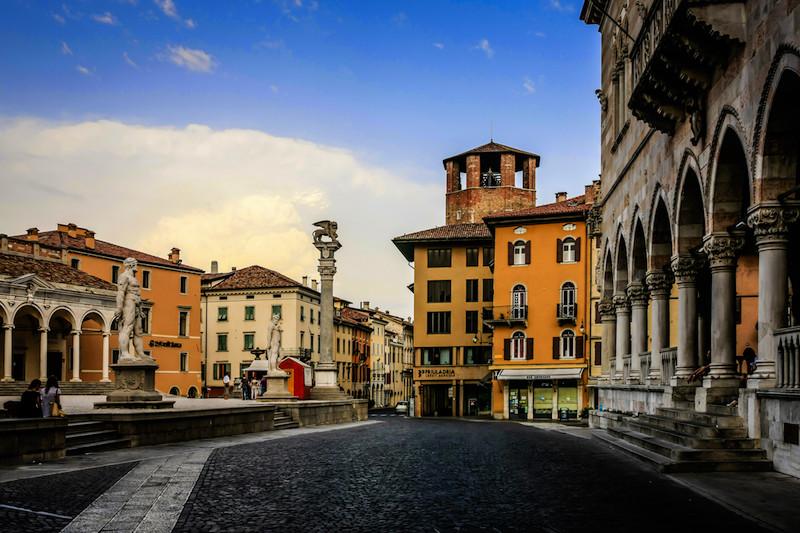 Piazza della Liberta, Udine Italy