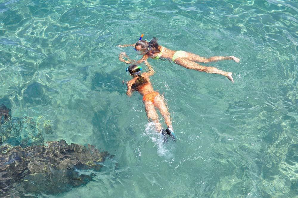 Snorkelling in Sardinia